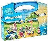Playmobil- Family Fun Maletín Grande Picnic Familiar, Multicolor, única (9103)