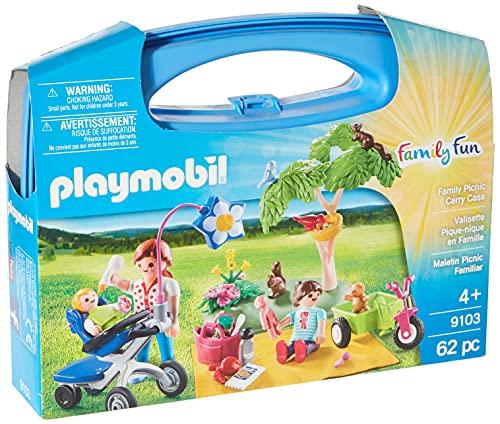 PLAYMOBIL Family Fun Maletín grande Pícnic Familiar , A partir de 4 años (9103)