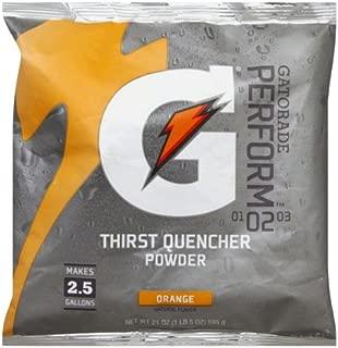 Gatorade Powder Pouch, Orange, 21-Ounce (Pack of 4)