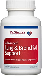 Dr. Sinatra's Advanced Lung & Bronchial Support Vitamins for Lung Health Support, Clear Breathing and Lung Function (60 Capsules, 30-Day Supply)