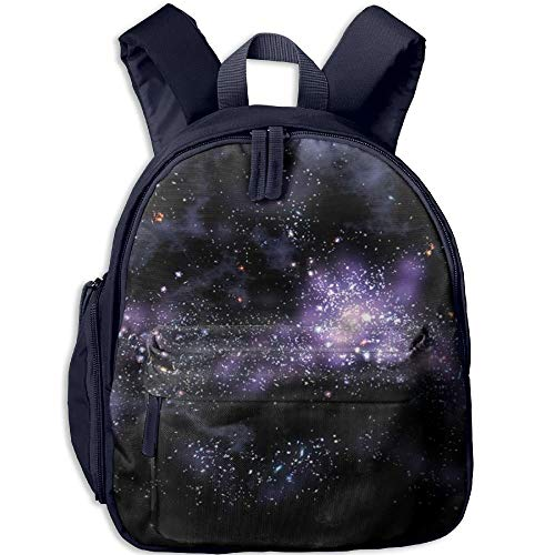 Yuanmeiju Starry Sky Student School Bags Feet Super Bookbag