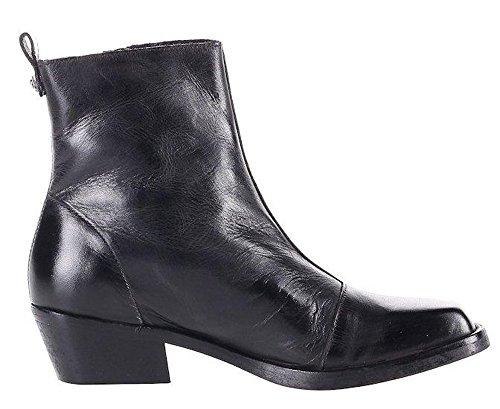 Diesel Damen Ancle Boots Stiefeletten SQUAR YOUSSTON (EUR 37, Schwarz)