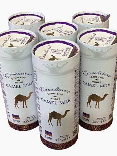Daudz 6 kārbu ar pienu CHAMELLE LIQUID 235 ml ilgu glabāšanas laiku