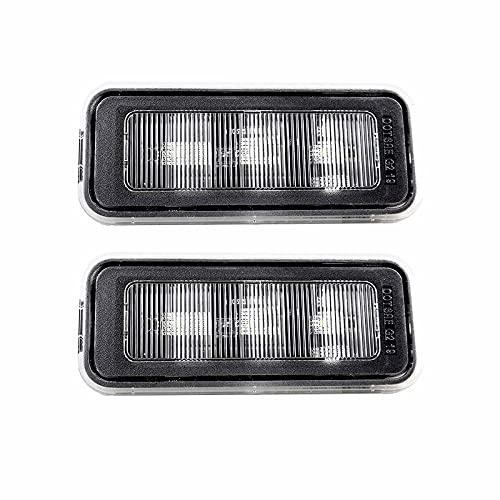 LXSTARS Kit de iluminación LED, Luces de Repuesto de plástico superbrillantes para Coche, Ajuste Directo para Toyota Tacoma 2020~2021 PT857-35200 OEM Negro