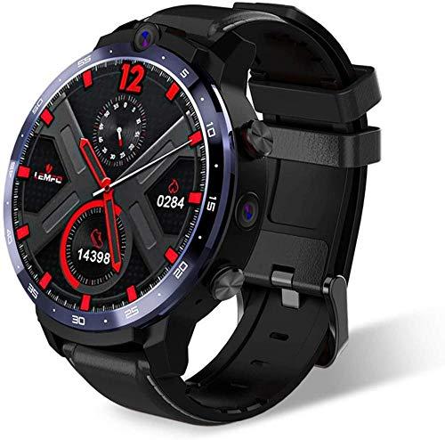 Reloj Inteligente Reconocimiento de Cara Gran Memoria Doble Ajuste 1.6 Pulgadas Frecuencia Cardíaca Monitoreo de Presión Arterial Fitness Tracker Mensaje Notificación de Llamadas Ip68-Negro