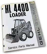 Gehl 4400 Skid Steer Loader Service Parts Manual