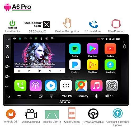 [NUOVO] ATOTO A6 2DIN Android Car Navigation Stereo- 2x Bluetooth e ricarica rapida per telefono - PRO A6Y2721PR-G Gesture Operation -Car Entertainmen