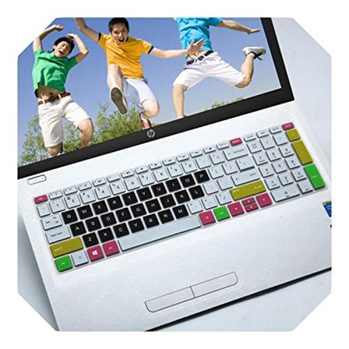 Funda protectora para teclado HP Pavilion ENVY x360 15-bp105TX 15-BP003TX 15.6'' 17.3'' / X360 15-BP BQ Series-Color 3-
