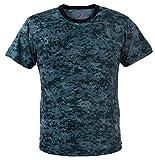 Rothco T-Shirt, Digital Midnight Blue Camo, X-Large