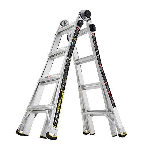 6. Gorilla 17FT MXP Aluminium Telescoping ladder