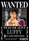 One Piece Strohhut Piraten Wanted Poster (Post Wano Kuni),
