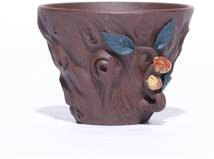 ZXY-NAN Ceramic Tea Cup Yixing Ranking TOP13 Purple Owner High material Hand-Old Clay Peach