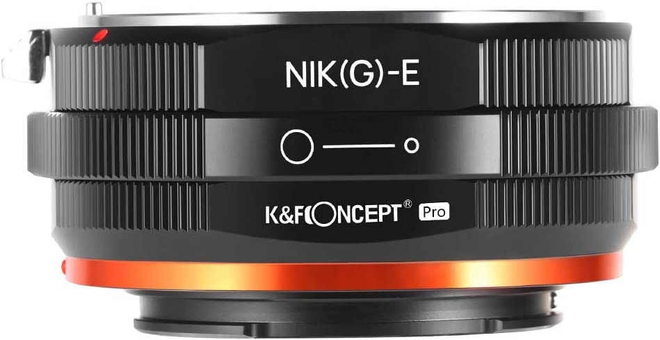 Popular 67% OFF of fixed price brand KF Concept Lens Mount Adapter G N E-Mount to F AI