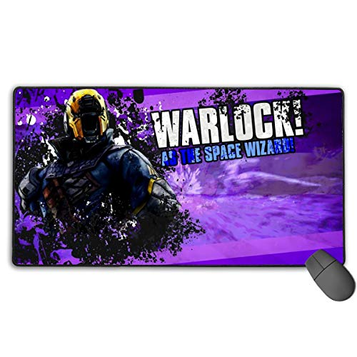 Video Game Destiny 2 Premium-Textured Extended Computer Mouse Pad with Stitched Edge, Extra Large Durable Non-Slip Mouse Mat for Laptop, Computer & PC, Funny Gaming Keyboard Pad for Boys Studying