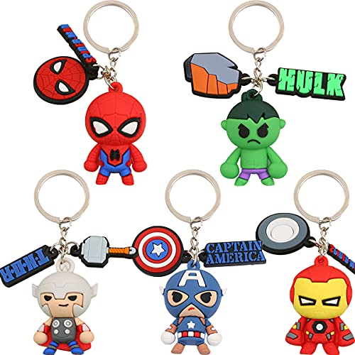 Tomicy Superhéroe The Avengers Llavero...