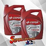 CEPSA Genuine 15W40 2X5L(10Litros)