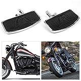 Front or Rear Floorboard Foot Peg Pedals, Yolpoco Adjust Floorboards for Harley Sportster 883 1200 Wide Glide Low Rider
