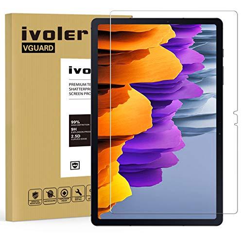 iVoler Pellicola Vetro Temperato per Samsung Galaxy Tab S7 11 Pollici (T870 / T875 / 876B), Pellicola Protettiva Protezione per Schermo per Samsung Galaxy Tab S7