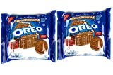 Oreos Gingerbread Flavor Creme Sandwich Cookies - Limited Edition - 2 Packs