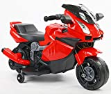 Brunte Mini Ninja Super Bike Rechargeable Battery Operated Ride-On for Kids(1.5 to 3YRS) (Red)