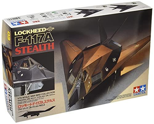 タミヤ 1/72 ウォーバードコレクション No.03 アメリカ空軍 ロッキード F-117A ステルス プラモデル 60703