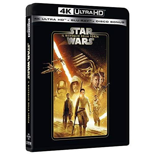 Star Wars 7 Il Risveglio Della Forza Uhd 4K (3 Blu Ray)