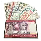 Prophila Collection todas mundo 25 diferentes billetes fuera ultramar billetes para los coleccionistas