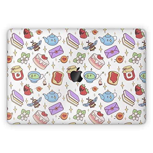 Lex Altern Skin Decal for Apple MacBook Pro 13 2020 Air Mac 16 2019 15 inch Retina 2018 2017 12 11 Stars Cover Bee Strawberry Keyboard Kawaii Books Girly Laptop Full Body Protective Cute Vinyl mch032