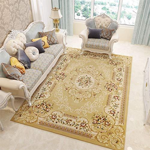 Muebles para el hogar exquisita alfombra Alfombras modernas, alfombras de diseño Alfombra de estilo europeo para sala de estar Silla de la computadora Sofá Mesa de centro Alfombras rectangulares para