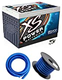 XS Power D3400 3300 Amp Car Audio Battery+Terminal Hardware+Power/Ground Wires