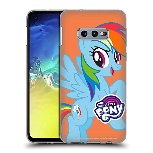 Head Case Designs Officially Licensed My Little Pony Rainbow Dash Solo Character Art Soft Gel Case Compatible with Samsung Galaxy S10e
