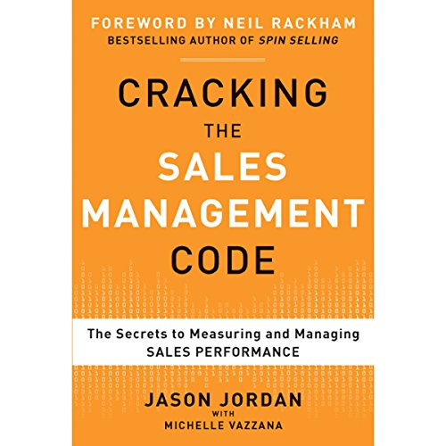 Cracking the Sales Management Code audiobook cover art