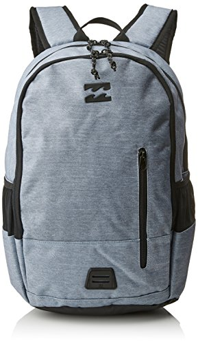 BILLABONG Command Lite Pack, Mochila para Hombre, Gris (Grey Heather), 1x1x1 cm (W x H x L)