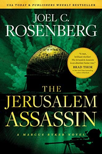 The Jerusalem Assassin A Marcus Ryker Series Political and Military Action Thriller Book 3 product image