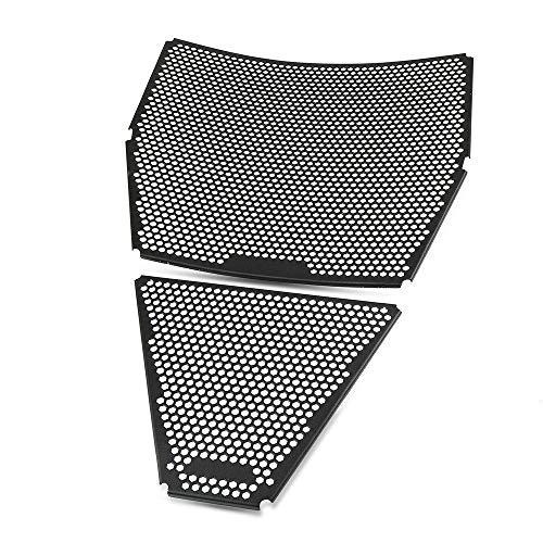 Kühlerschutz Set Motorrad-Kühlergrill Schutz-Abdeckung Schutz/Fit for Ducati Street V4 / S 2020+ Panigale V4 / S 2018 2019 (Color : Set Streetfighter)
