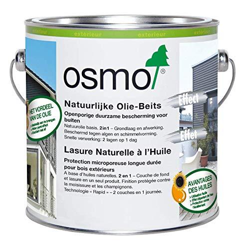Osmo Natuurlijke Olie-Beits 903, Basaltgrijs 2,5 liter 903, Basaltgrijs Natuurlijke beschermende buitenbeits in verschillende kleuren.