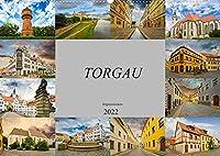 Torgau Impressionen (Wandkalender 2022 DIN A2 quer): Torgau, grosse Kreisstadt an der Elbe (Monatskalender, 14 Seiten )