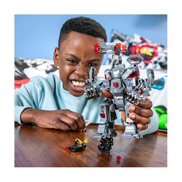 LEGO-Super-Heroes-War-Machine-Buster-Set-di-Costruzioni-per-Bambini-8-Anni-e-per-Tutti-gli-Appassionati-di-Marvel-Avengers-76124