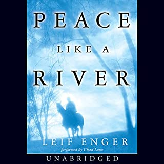 Peace Like a River audiobook cover art