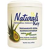 Dominican Hair Product Naturals Key Aloe Vera and Avocado Treatment Conditioner 16oz