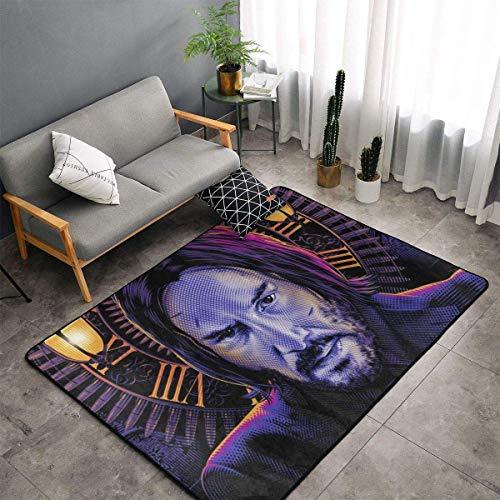 yunyang John Wi - Alfombra de suelo antideslizante para dormitorio, camping, alfombras suaves para el salón, para niños y niñas