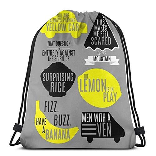 IUBBKI Cabin Pressure Waterproof Foldable Sport Sackpack Gym Bag Sack Drawstring Backpack