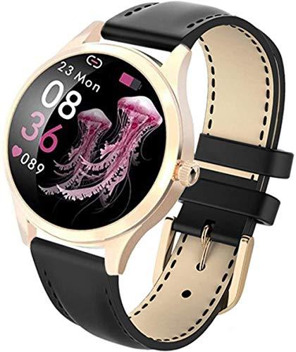 KW20 reloj inteligente mujeres impermeable ritmo cardíaco podómetro presión arterial deportes pulsera inteligente smartwatch para ios android-c
