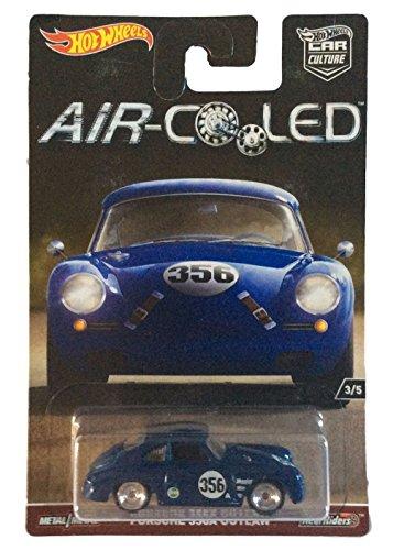 Hot Wheels 1:64 Scale Air-Cooled Car Culture Porsche 356A Outlaw 3/5