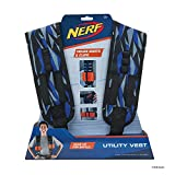 Toy Partner- Nerf Chaleco Utility Elite, Color Azul,Negro y Naranja, Talla única (NER0155)