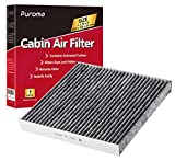 Puroma Cabin Air Filter with Activated Carbon, Replacement for CP134, CF10134, Honda & Acura, Civic, CR-V, Odyssey, CSX, ILX, MDX, RDX, AT134 (1 pc)