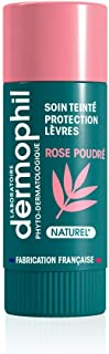Dermophil Indien - Trattamento colorato per labbra 4 g, colore: Rosa polvere