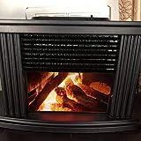 DUOCACL Calentador de Chimenea eléctrico, Mini Calentador portátil de sobremesa para Chimenea eléctrica, Calentador de Chimenea de Estufa Independiente, regulaciones Europeas