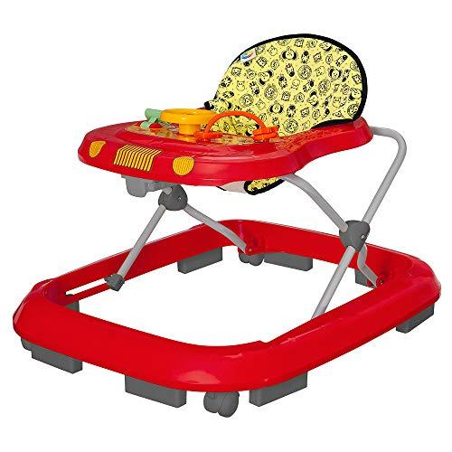 Andador Safari, Tutti Baby, Vermelho