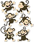 Creative Teaching Press Monkeys 6' Designer Cut-Outs (Accent for Calendars, Bulletin Boards and Classrooms, Learning Spaces and More)